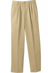 Men's Pleated Chino Pants