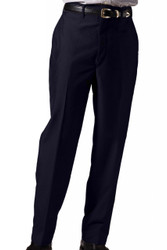 Men's Flat Front Lightweight Poly/Wool Pants