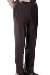 Men's Flat Front Dress Poly/Wool Pants