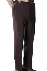 Men's Flat Front Dress Poly/Wool Pants