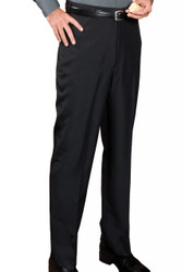 Men's Flat Front Poly Casino Pants