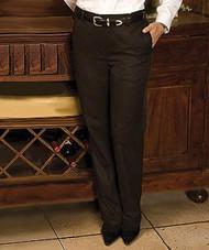 Women's Flat Front Easy-Fit Microfiber Pant
