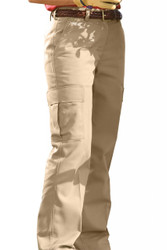 Women's Flat Front Cargo Pant