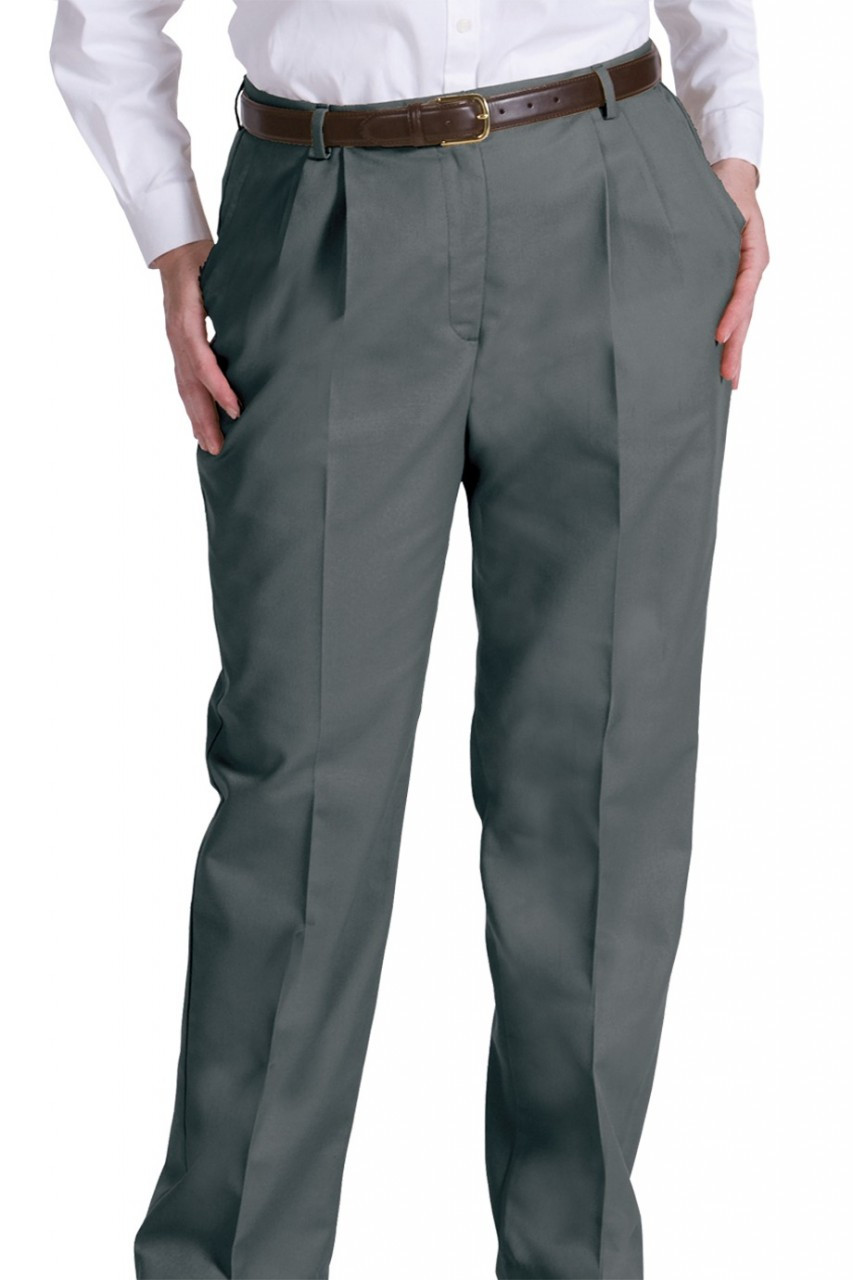 65320d40962 Women s Pleated Business Casual Chino Pant. Price   33.89. Image 1