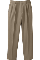 Women's Pleated Washable Poly/Wool Pant