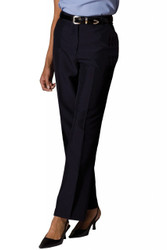 Women's Lightweight Flat Front Poly/Wool Pant