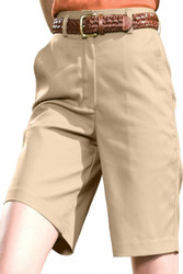 "Women's Flat Front Chino Short (9"")"