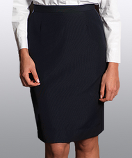 Women's Poly/Wool Straight Skirt