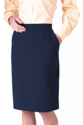 Women's Cotton Straight Skirt