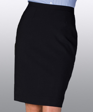 Women's Solid Straight Skirt (No Pocket)