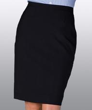 Women's Solid Straight Skirt (No Pocket)