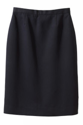 Women's Poly-Microfiber Straight Skirt (No Pocket)