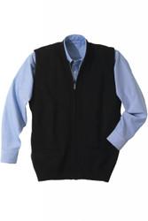 Unisex Zip-Front Vest (Heavy Acrylic)