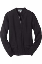 Unisex Zip-Front Cardigan (Heavy Acrylic)