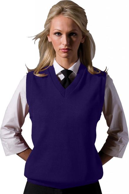 Unisex V-Neck Sweater Vest (Acrylic) #561