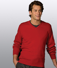 Unisex Cashmere V-Neck Crossover Sweater