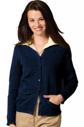Women's V-Neck Cardigan (Acrylic)