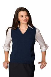 Women's V-Neck Vest (Acrylic)