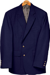 Men's Single Breasted Poly Blazer