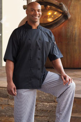 Mesh Back Unisex Chef Coat