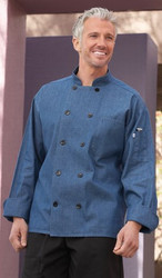 Unisex Chambray Chef Coat