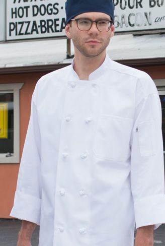 Classic Knot Button Chefcoat