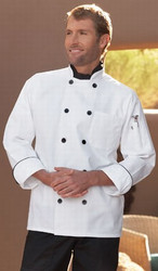 "Unisex ""Madrid"" Chef Coat"