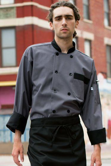 Slate with Black Trim Coat