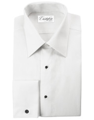 Tuxedo Shirt in 100% Cotton