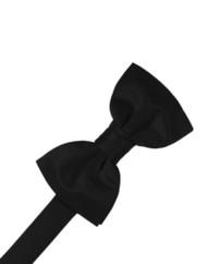 Solid Satin Bow Tie (Pre-Tied)