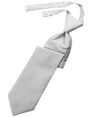 Palermo Long Tie (Solid, Pre-Tied)