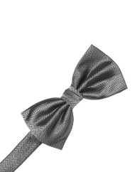 Luxury Herringbone Bow Tie
