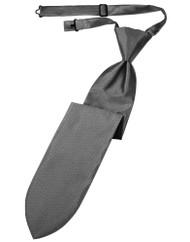 Luxury Herringbone Long Tie