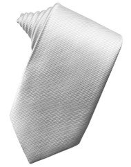 Faille Silk Long Tie (Self-Tie)