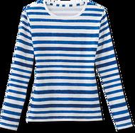 Ladies Striped Scrub Shirt