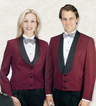 Men's Eton Jacket in Burgundy
