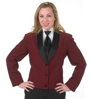 Women's Eton Jacket in Burgundy
