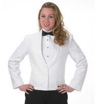 Women's Eton Jacket in White