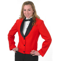 Eton Jacket Red for Women