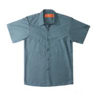 Mens Short Sleeve Work Shirt