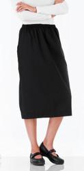 Elastic Waist Scrubs Skirt