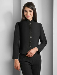 Womens Server Jacket in Black