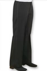 Women's Flat Front Tuxedo Trouser