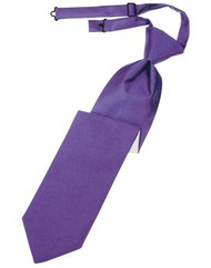 Freesia Solid Satin Long Tie
