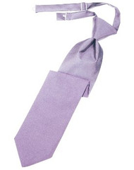 Heather Solid Satin Long Tie