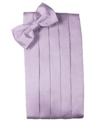 Heather Solid Satin Cummerbund