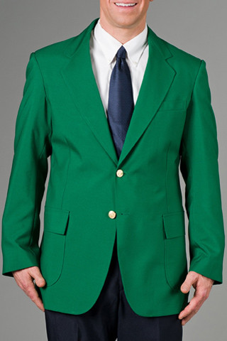 kelly green blazer