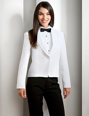 One-button Ladies Server Jacket