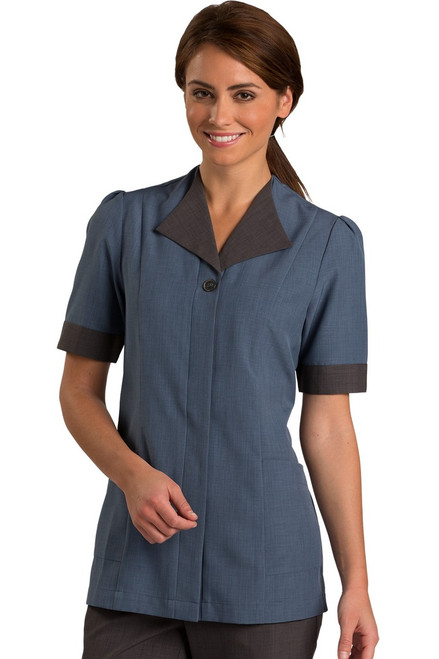 Blue Housekeeping Tunic