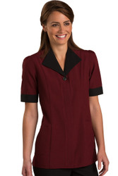 Burgundy Housekeeping Tunic